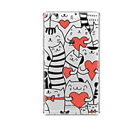 cheap -Case For Huawei Huawei MediaPad T3 8.0 Transparent Pattern Back Cover Cat Heart Soft TPU for