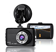 cheap -t660 848 x 480 / 1280 x 720 / 1440 x 1080 Car DVR 170 Degree Wide Angle 3inch LCD Dash Cam with Loop-cycle Recording / G-Sensor 6