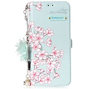 cheap -Case For Samsung Galaxy S8 Plus S8 Card Holder with Stand Flip Pattern DIY Flower Hard for