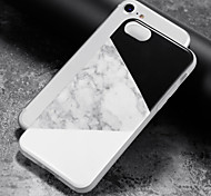 economico -Custodia Per Apple iPhone 8 iPhone 8 Plus Custodia iPhone 5 iPhone 6 iPhone 7 IMD Per retro Effetto marmo Morbido TPU per iPhone 8 Plus