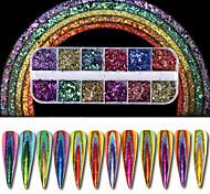cheap -1set Glitters Luxury Elegant & Luxurious Nail Glitter Glitter Powder Powder Nail Art Tips Nail Art Design