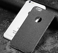 Недорогие -Назначение iPhone X iPhone 8 Чехлы панели Матовое Задняя крышка Кейс для Сияние и блеск Мягкий Термопластик для Apple iPhone X iPhone 8