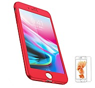 Недорогие -Кейс для Назначение Apple iPhone 8 iPhone 8 Plus Матовое Чехол Сплошной цвет Мягкий ТПУ для iPhone 8 Pluss iPhone 8 iPhone 7 Plus iPhone
