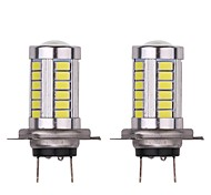 cheap -2pcs Light Bulbs 16.5W SMD 5630 33 Fog Light For universal All Models Universal