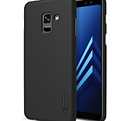 cheap -Case For Samsung Galaxy A8 2018 A8 Plus 2018 Shockproof Frosted Solid Color Hard for