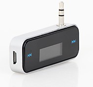 cheap -Hot Car FM Transmitter For Smart Phone Bluetooth Wireless Auto Player Audio Devices Fm Modulator LCD Display Car Accessories