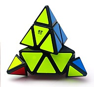 cheap -Rubik's Cube QIYI A Pyramid Alien 3*3*3 Smooth Speed Cube Magic Cube Puzzle Cube Glossy Office Desk Toys Stress and Anxiety Relief
