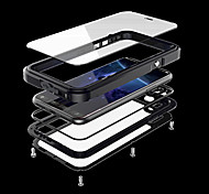 cheap -Case For Apple iPhone X iPhone X Water/Dirt/Shock Proof Full Body Cases Armor Hard Metal for iPhone X