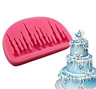Недорогие -Инструменты для выпечки силикагель Инструмент выпечки / День рождения / Новый год Торты / Cupcake / Для шоколада Формы для пирожных