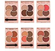 Недорогие -Makeup 4pcs Тени для век Комбинация Тени порошок Кошачьи глазки / Фея / Макияж для вечеринки