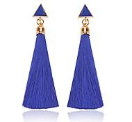 cheap -Women's Drop Earrings , Tassel Classic Fashion Cord Alloy Triangle Jewelry Daily Costume Jewelry