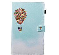 cheap -Case For Amazon Wallet with Stand Flip Pattern Auto Sleep/Wake Up Full Body Cases Balloon Hard PU Leather for Kindle Fire hd 10(7th