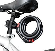 Недорогие -9005- горный велосипед блокировка портативный wirerope 5 цифровой кодовый замок пароль безопасность противоугонная блокировка велосипеда с