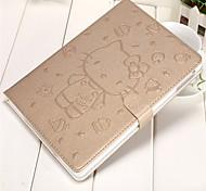 Недорогие -Кейс для Назначение iPad 9.7 (2017) iPad Air 2 iPad mini 4 iPad (2017) Кошелек Бумажник для карт со стендом С узором Авто Режим сна /