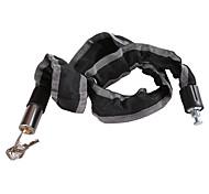 Недорогие -двигаться железный горный велосипед / мотоцикл цепь грабитель блокировка металлический кабель 90cm