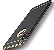 Недорогие -Кейс для Назначение Apple iPhone X iPhone 8 Покрытие Ультратонкий Кейс на заднюю панель Сплошной цвет Твердый ПК для iPhone 8 Pluss