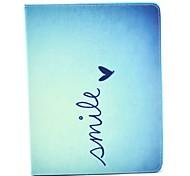 preiswerte -Hülle Für Apple iPad Air 2 iPad Air iPad 4/3/2 mit Halterung Flipbare Hülle Muster Automatisches Schlafen/Aufwachen Ganzkörper-Gehäuse