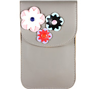 cheap -Case For Samsung Galaxy S8 Plus S8 Card Holder Wallet Pouch Bag Flower Soft PU Leather for S8 Plus S8 S8 Edge S7 Active S7 edge S7 S6