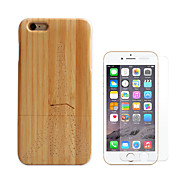 cheap -Case For Apple iPhone 6 iPhone 6 Plus Shockproof Full Body Cases Eiffel Tower Hard Bamboo for iPhone 6s Plus iPhone 6s iPhone 6 Plus