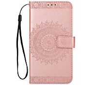 cheap -Case For Huawei P9 P8 Lite (2017) P10 Plus P10 Lite P10 Flip Pattern Full Body Cases Flower Hard PU Leather for P10 Plus P10 Lite P10