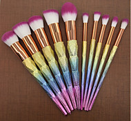 cheap -Makeup Brush Set Nylon Soft Travel Size Full Coverage Plastic Face