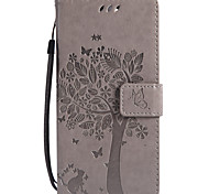 cheap -Case For Sony Xperia XZ1 Compact Xperia L2 Card Holder Wallet with Stand Flip Pattern Full Body Cases Cat Tree Hard PU Leather for Sony