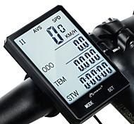 Недорогие -INBIKE CX-9 2.8'' Large Screen Велокомпьютер Секундомер Водонепроницаемость Безпроводнлй Счётчик пробега Шоссейные велосипеды