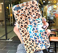 cheap -Case For Apple iPhone X / iPhone 7 Plus Pattern Back Cover Leopard Print Soft TPU for iPhone X / iPhone 8 Plus / iPhone 8