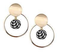 preiswerte -Damen Lang Tropfen-Ohrringe - Europäisch, Modisch Gold Für Normal / Alltag
