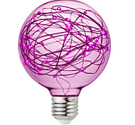 cheap -BRELONG® 1pc 3W 300lm E26 / E27 LED Globe Bulbs 95 LED Beads SMD Decorative RGB Pink Yellow 220-240V