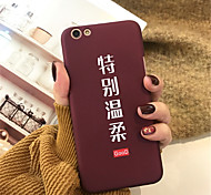 cheap -Case For Apple iPhone X iPhone 7 Plus Pattern Back Cover Word / Phrase Hard Acrylic for iPhone X iPhone 8 Plus iPhone 8 iPhone 7 Plus
