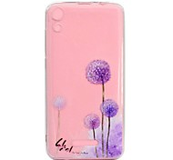 cheap -Case For Wiko U Feel Lite Robby Transparent Pattern Back Cover Dandelion Soft TPU for Wiko U Feel Lite Wiko U Feel Wiko Sunny Wiko Robby