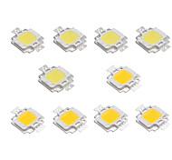 cheap -10pcs LED Chip Aluminum for DIY LED Flood Light Spotlight DC 12V