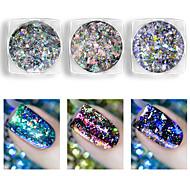 cheap -1pcs Glitter Powder Nail Glitter Nail Art Design