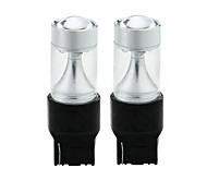 cheap -SENCART 2pcs T20(7440,7443) Car / Motorcycle Light Bulbs 30W Integrated LED 1200lm 6 LED Light Bulbs Exterior Lights For universal All