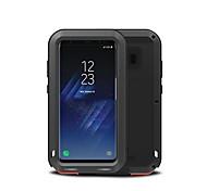 Недорогие -Кейс для Назначение SSamsung Galaxy S8 Plus S8 Вода / Грязь / Надежная защита от повреждений Чехол Сплошной цвет Твердый Металл для S8