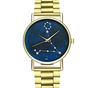 cheap -Women's Chinese Chronograph / Casual Watch Stainless Steel Band Colorful Gold