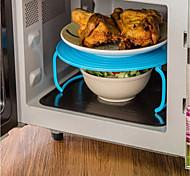 Недорогие -Пластик Портативные Heatproof Для микроволновой печи Для приготовления пищи Посуда Многофункциональный Кронштейн, 1шт