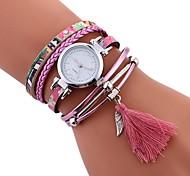 preiswerte -Damen Quartz Modeuhr Chinesisch Armbanduhren für den Alltag PU Band Freizeit Modisch Schwarz Blau Orange Grün Lila Beige