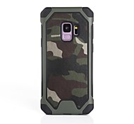 cheap -Case For Samsung Galaxy S9 S9 Plus Shockproof Back Cover Camouflage Color Soft Silicone for S9 Plus S9 S8 Plus S8 S7 edge S7 S6 edge S6