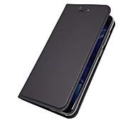preiswerte -Hülle Für Huawei Honor View 10(Honor V10) Honor 7X Kreditkartenfächer mit Halterung Flipbare Hülle Magnetisch Ganzkörper-Gehäuse Solide