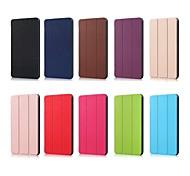 abordables -Funda Para Huawei MediaPad MediaPad M5 10 con Soporte Magnética Origami Funda de Cuerpo Entero Un Color Dura Cuero de PU para MediaPad M5