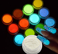 cheap -12bottle/set Acrylic Powders & Liquids / Glitter & Poudre / Other Decorations Glitters / Classic / Shimmering Lovely Daily