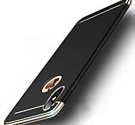 Недорогие -Кейс для Назначение Apple iPhone X iPhone 8 Защита от удара Покрытие Ультратонкий Чехол Однотонный Твердый ПК для iPhone X iPhone 8 Pluss
