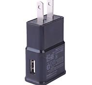 abordables -Cargador Portátil Cargador USB del teléfono Enchufe USA 1 Puerto USB 1A DC 5V