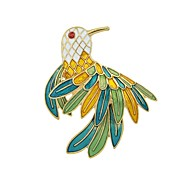 cheap -Women's Parrot Rhinestone Brooches - Basic / Fashion Green Brooch For Daily / Date