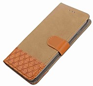 cheap -Case For Xiaomi ZTE Blade A610 Flip Magnetic Full Body Cases Geometric Pattern Hard PU Leather for ZTE Blade L5 Plus ZTE Blade A610 ZTE
