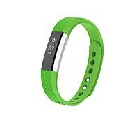 Недорогие -Ремешок для часов для Fitbit Alta Fitbit Современная застежка силиконовый Повязка на запястье