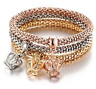 cheap -Men's / Women's Charm Bracelet / Bracelet - Crown Vintage, Bohemian, Fashion Bracelet Rainbow For Evening Party / Prom