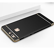 cheap -Case For Huawei P9 Huawei P9 Lite Huawei Huawei P9 Plus Plating Back Cover Solid Color Hard PC for Huawei P9 Plus Huawei P9 Lite Huawei